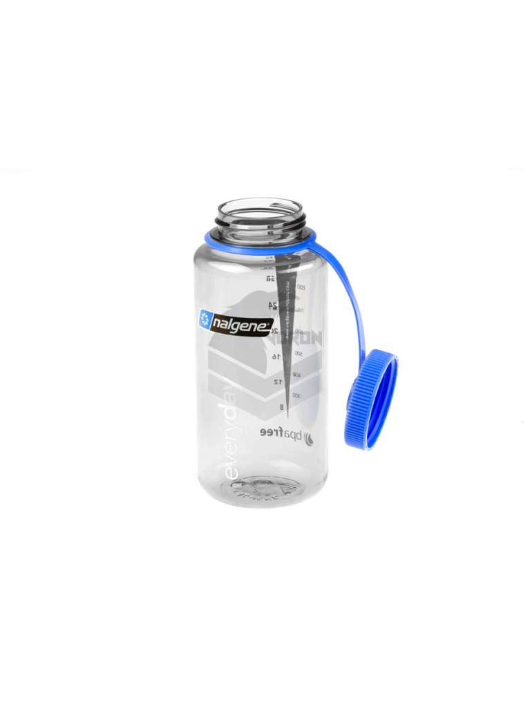 Fľaša Wide Mouth 1 Liter Grey Nalgene